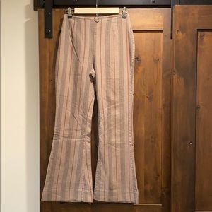 Free People striped trouser Flare's